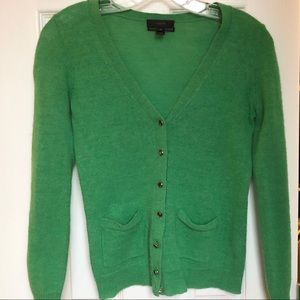 Italian Spun Alpaca Blend cardigan sweater